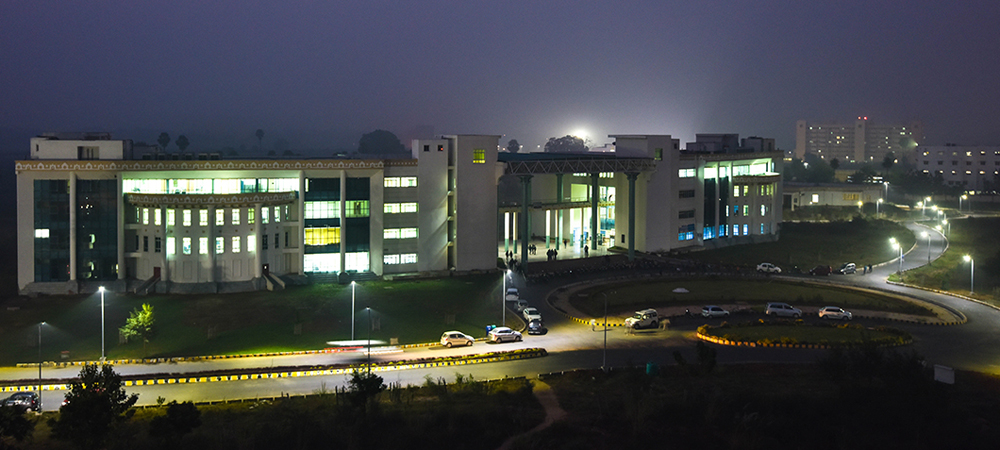 Night View, IIT Patna