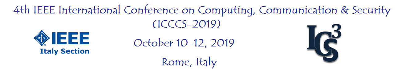 4th IEEE ICCCS-2019